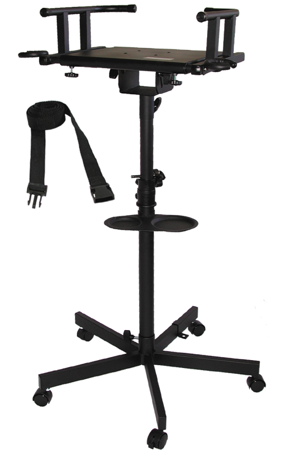 audio2000 39 s 4202 television guitar amplifier stand wheels adjustable height new ebay. Black Bedroom Furniture Sets. Home Design Ideas
